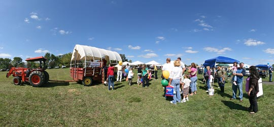 Image of Hayrides given at The Taste of Medford