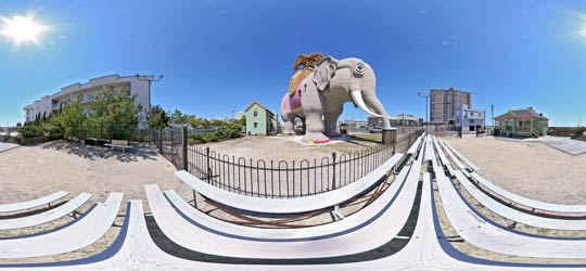 Click to view Lucy the Elephant in Margate