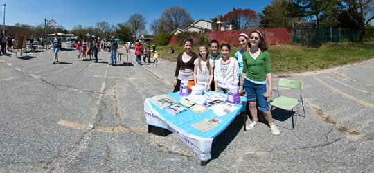 Image Cherry Hill NJ students raise money for March of Dimes.