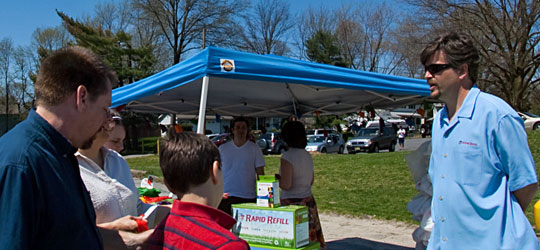 Voorhees Rapid Refill at Earth Day Festival