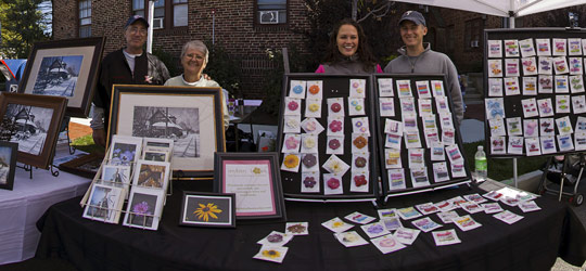 Picture Perfect Greetings & IttyBitty Bows at Haddon Heights Fall Festival