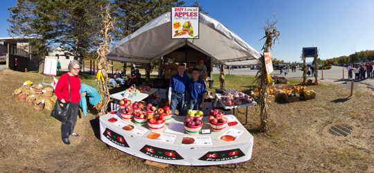 K and J Produce at Gore Mountain Harvest Fest