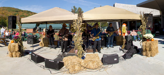 Live music from The Ernie Williams Band at Gore Mountain Harvest Fest